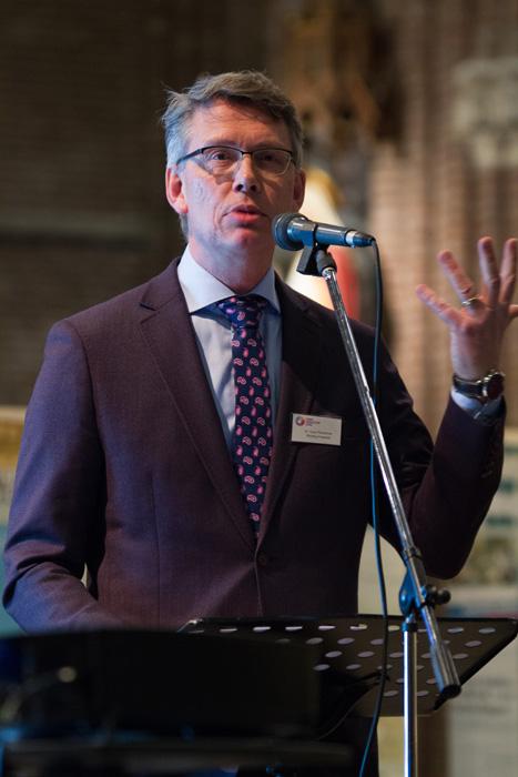 Guus Timmerman, wetenschappelijk medewerker stichting presentie, 6e Sint Maartendag 2018-7052