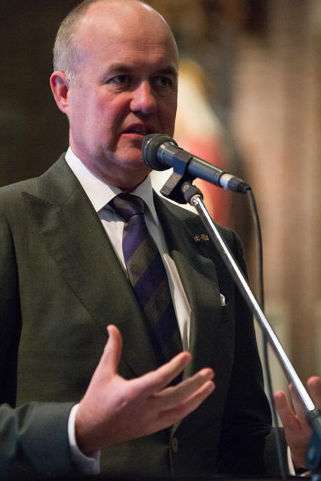 Arno Brok, commissaris van de Koning in Fryslân, 6e Sint Maartendag 2018-7062