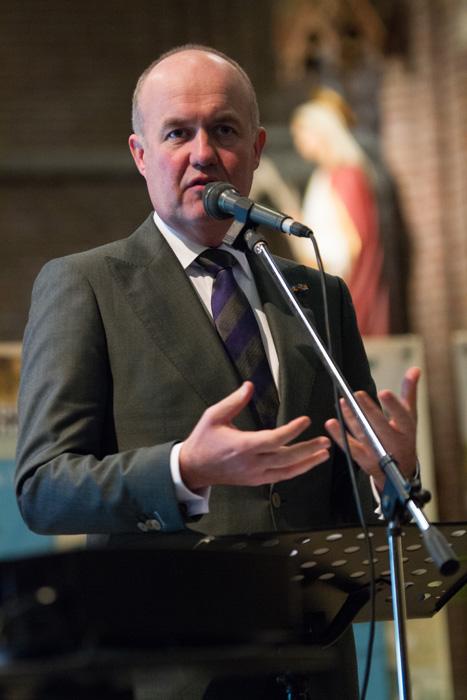 Arno Brok, commissaris van de Koning in Fryslân, 6e Sint Maartendag 2018-7067