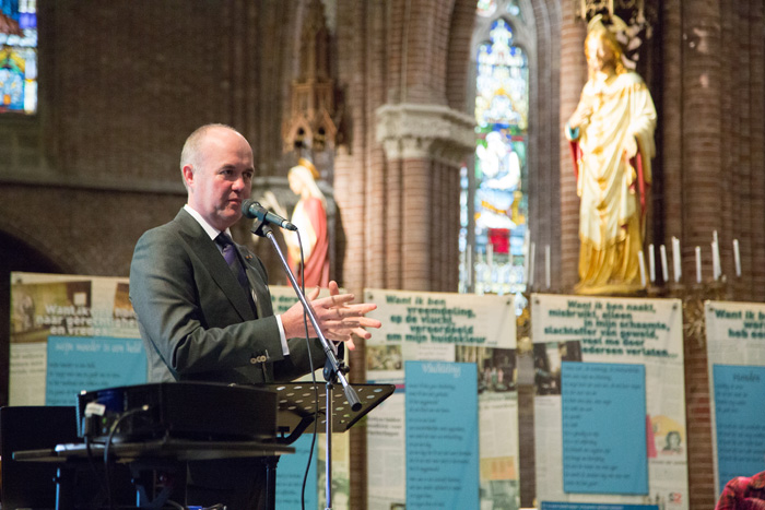 Arno Brok, commissaris van de Koning in Fryslân, 6e Sint Maartendag 2018-9193